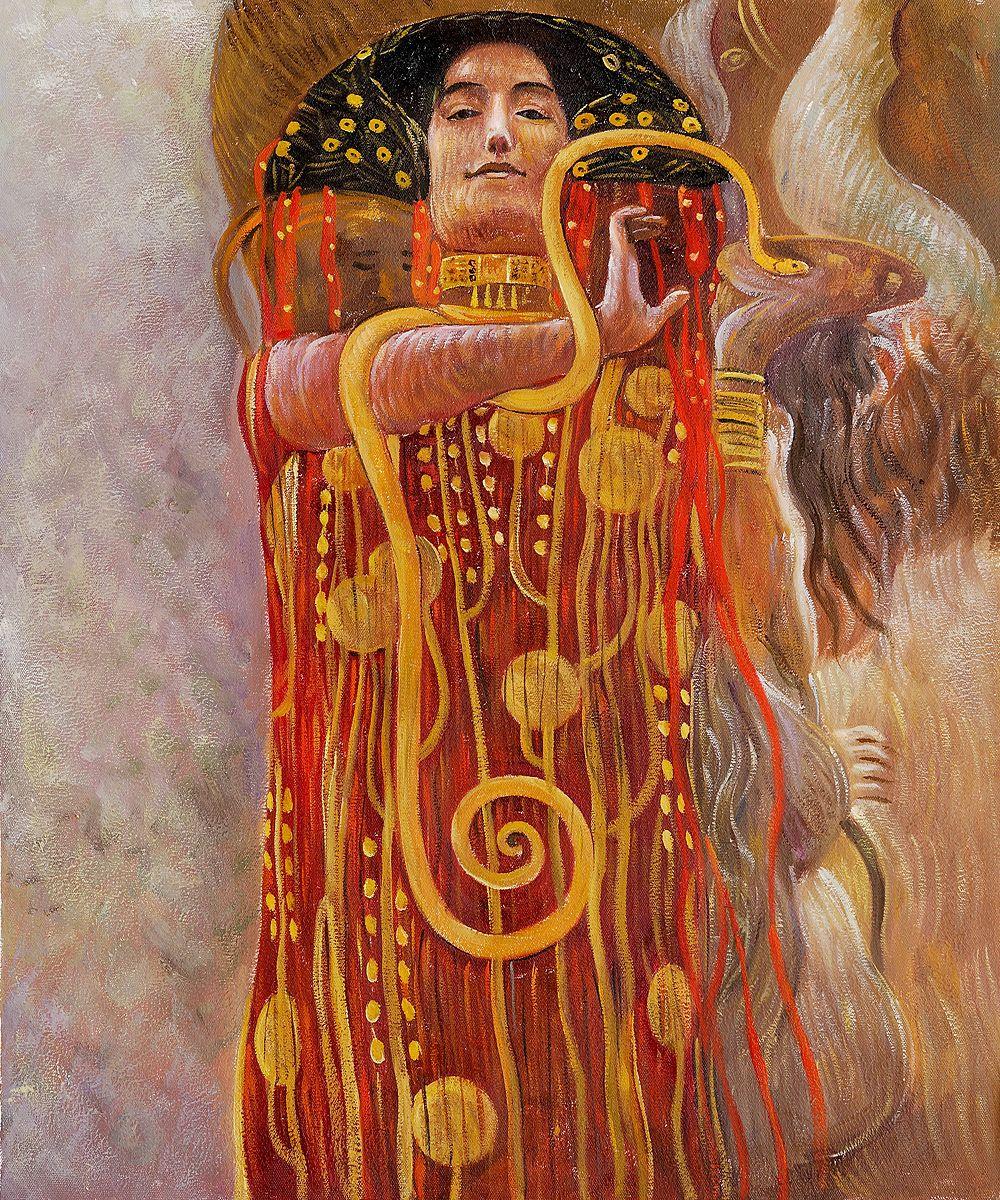 Hygieia Detail from Medicine by Gustav Klimt OSA198.jpg ...