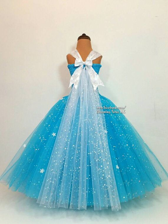 Ice Queen Super Sparkly Tutu Dress Birthday Party