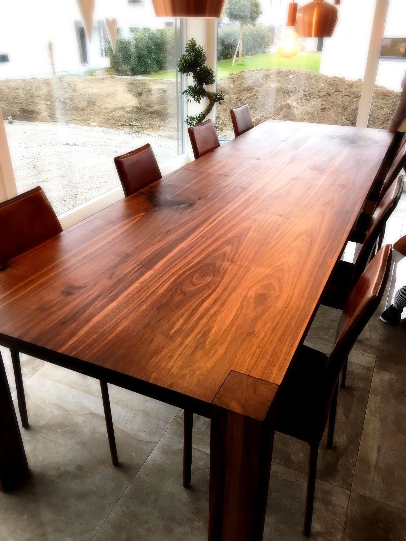 Bemerkenswert Esstisch Lang Das Beste Von Nussbaumtisch Massiv, 3 Meter #nussbaumtisch #massiv #schön