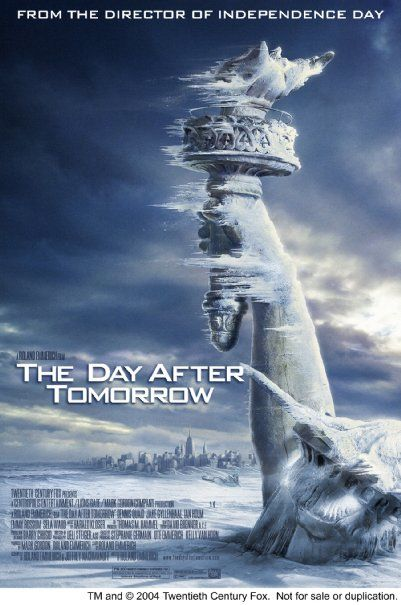 The Day After Tomorrow 2004 Capas De Filmes Os Incriveis