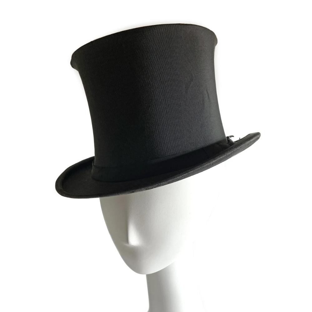Vintage 1920s Collapsible Top Hat Top Hat Black Top Hat Dapper Day