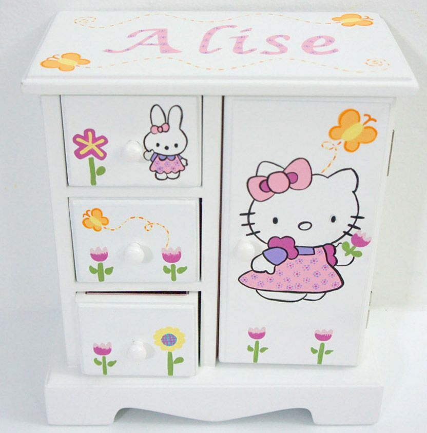 Adorable Jewelry Boxes for girls video on YouTube Hello kitty