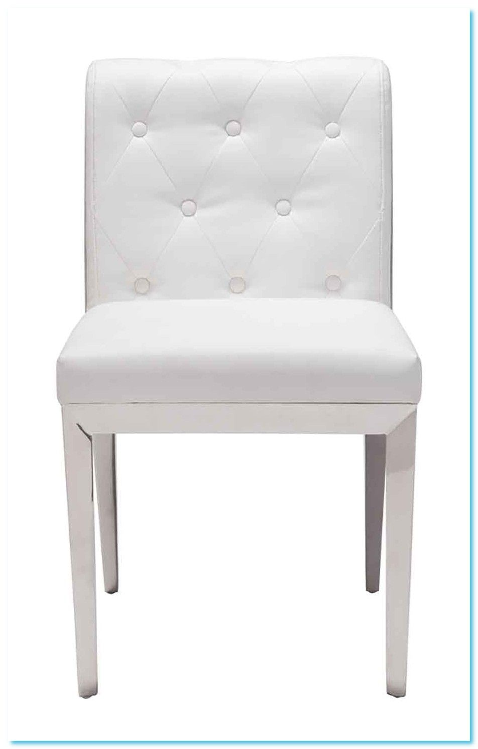 White Dining Chairs With Gold Legs
