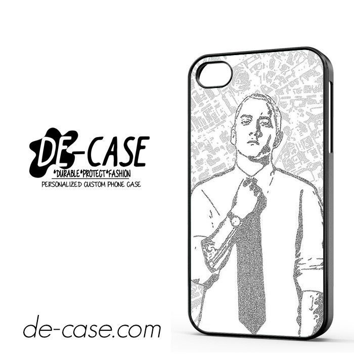Eminem Sketch Art DEAL-3946 Apple Phonecase Cover For Iphone 4 / Iphone 4S