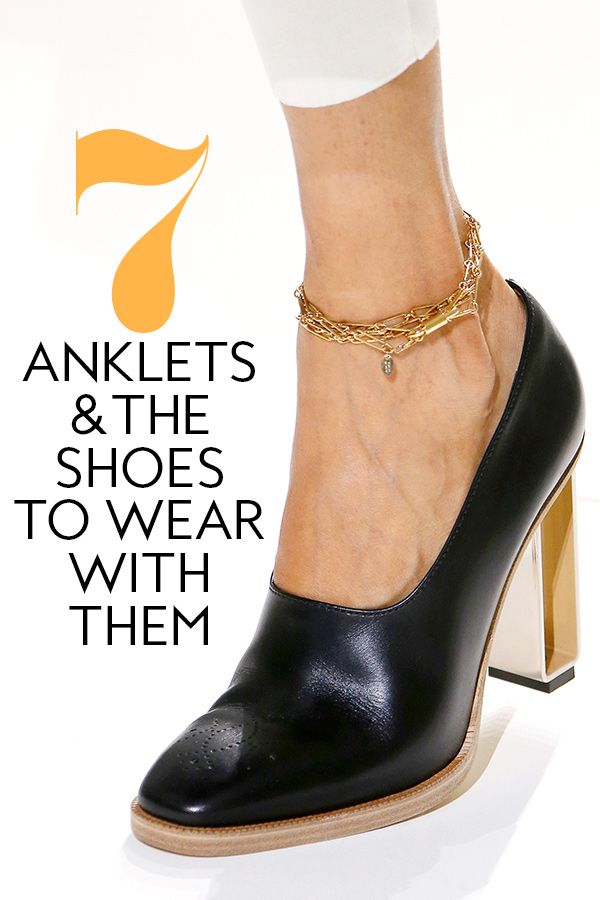 b183d7b9d257 Shop 7 Anklets + the Shoes to Wear with Them