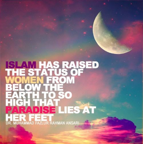 Quotes On Importance Of Women: Islamic Picturez: Muslim Womens Islamic Quotes