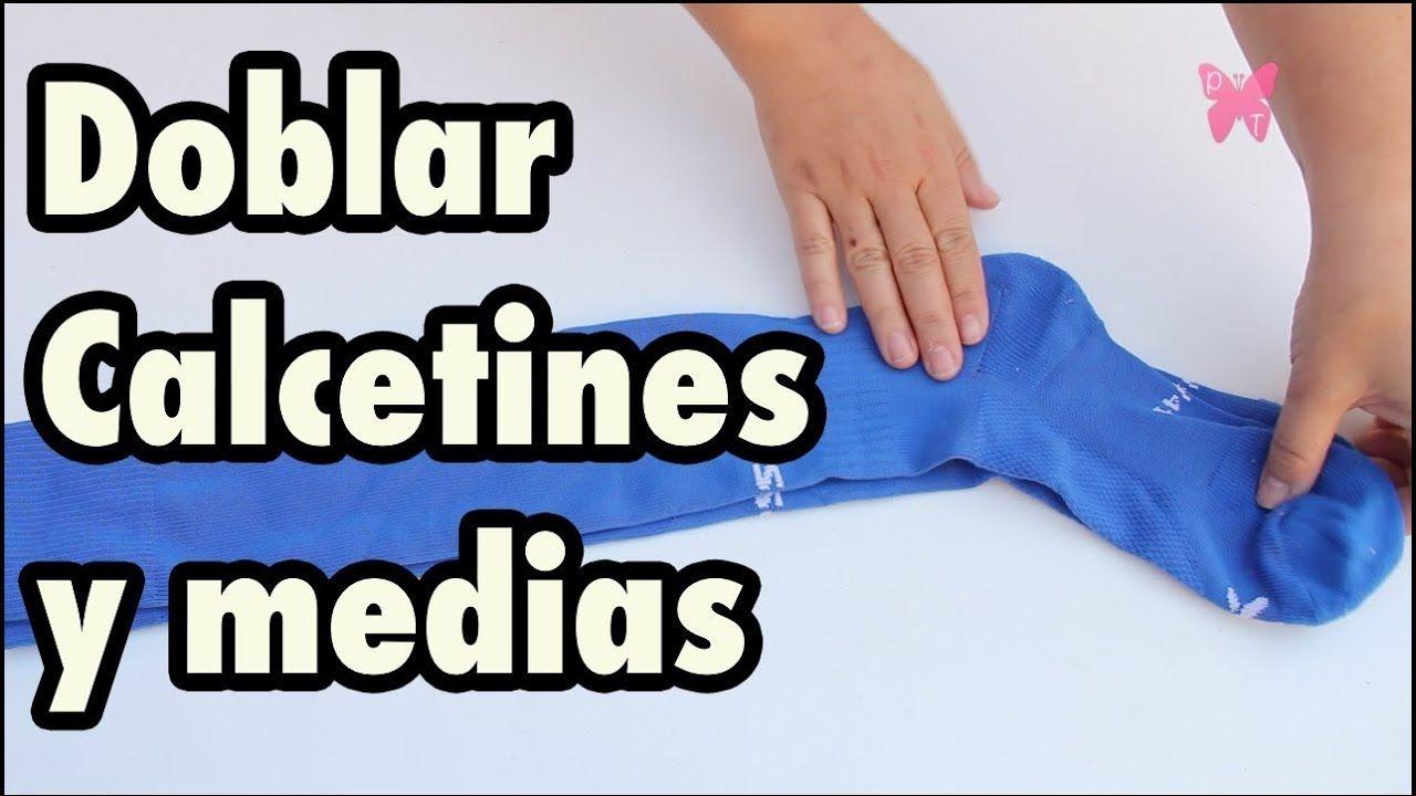 Cómo Doblar Calcetines Medias Y Leotardos 8 Tipos Distintos Youtube Medias Y Calcetines Calcetines Medias