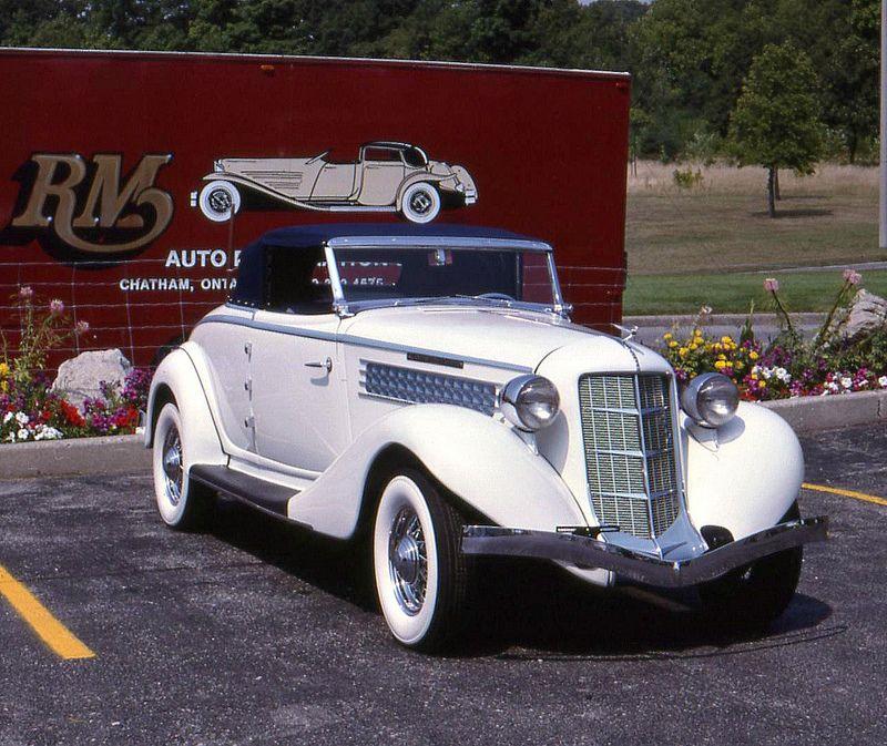 1936 auburn 852 supercharged convertible convertible