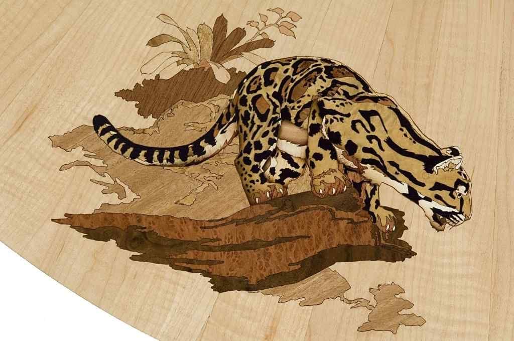 Cats Art Furnier Holz Tiere