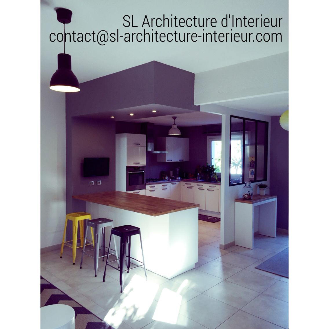 #amenagement #cuisine #kitchen #design #decoration #architectureinterieure #designinterior #www.sl-architecture-interieur.com