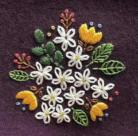 Pin By Stephani Rosmauli On Projects To Try Pinterest Embroidery