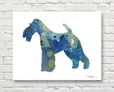 Hey, I found this really awesome Etsy listing at https://www.etsy.com/listing/242418071/wire-fox-terrier-art-print-abstract