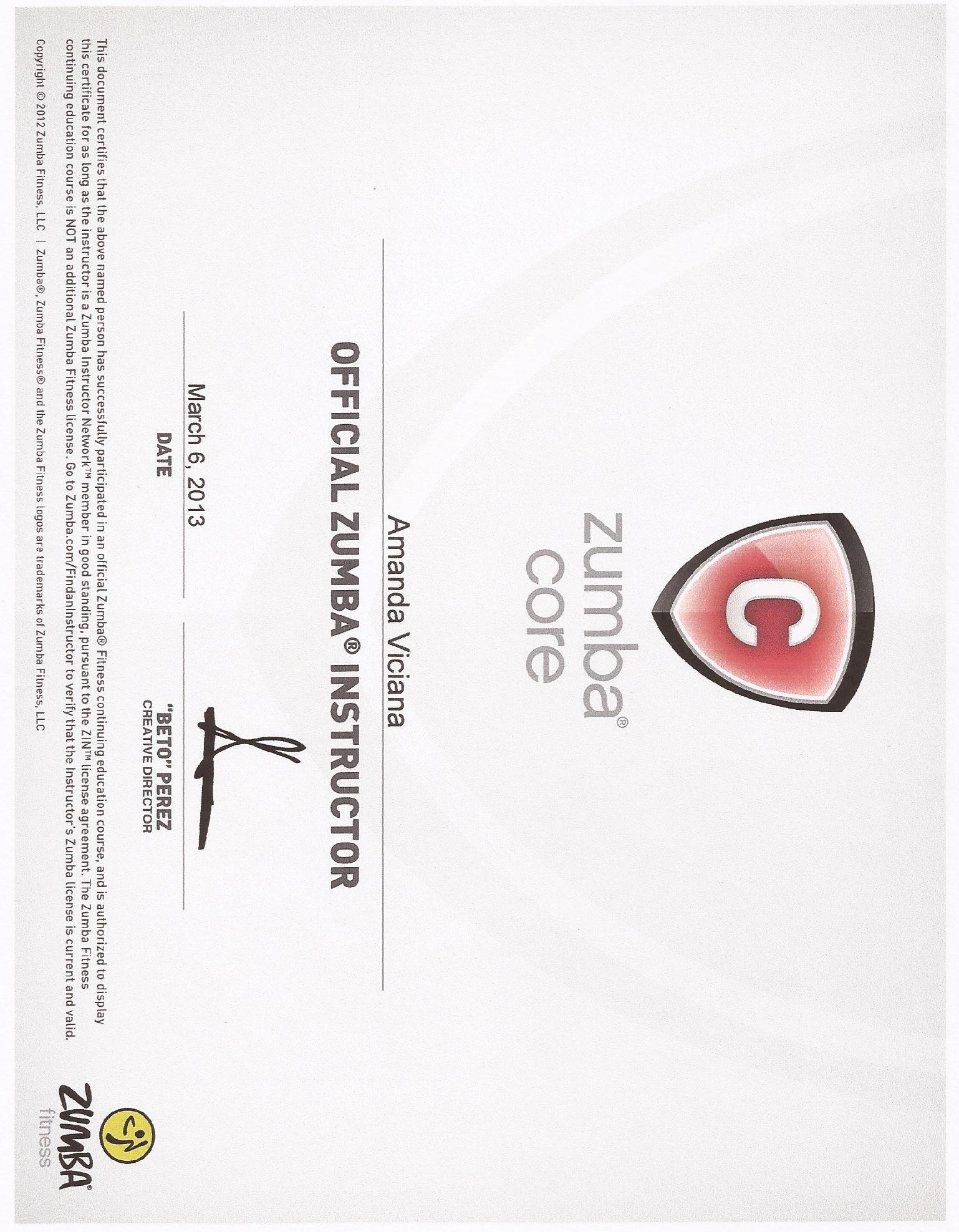 Zumba Core Certification Work Hard Fitness Pinterest