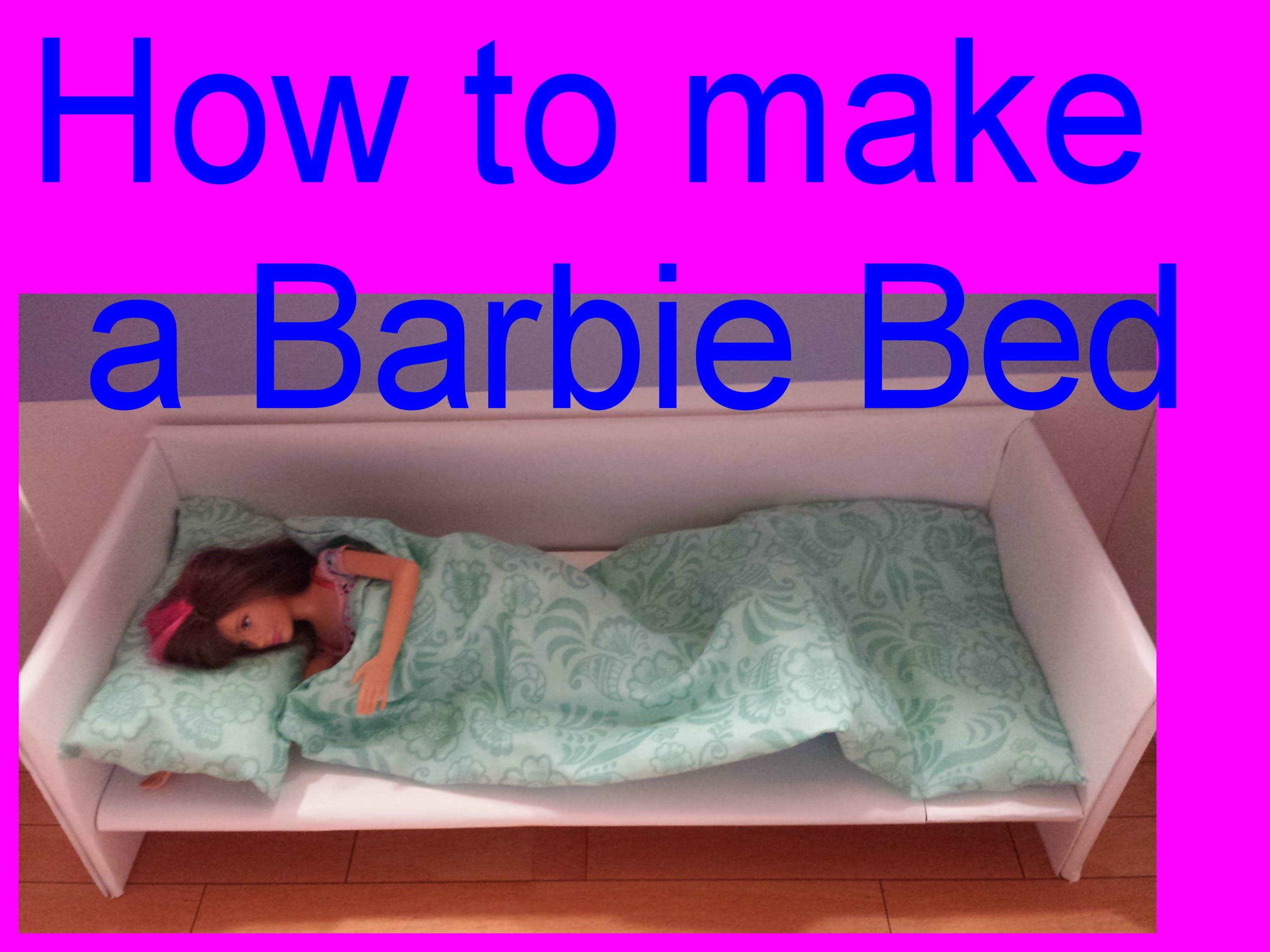 Barbie How To Make A Bed Ucreate