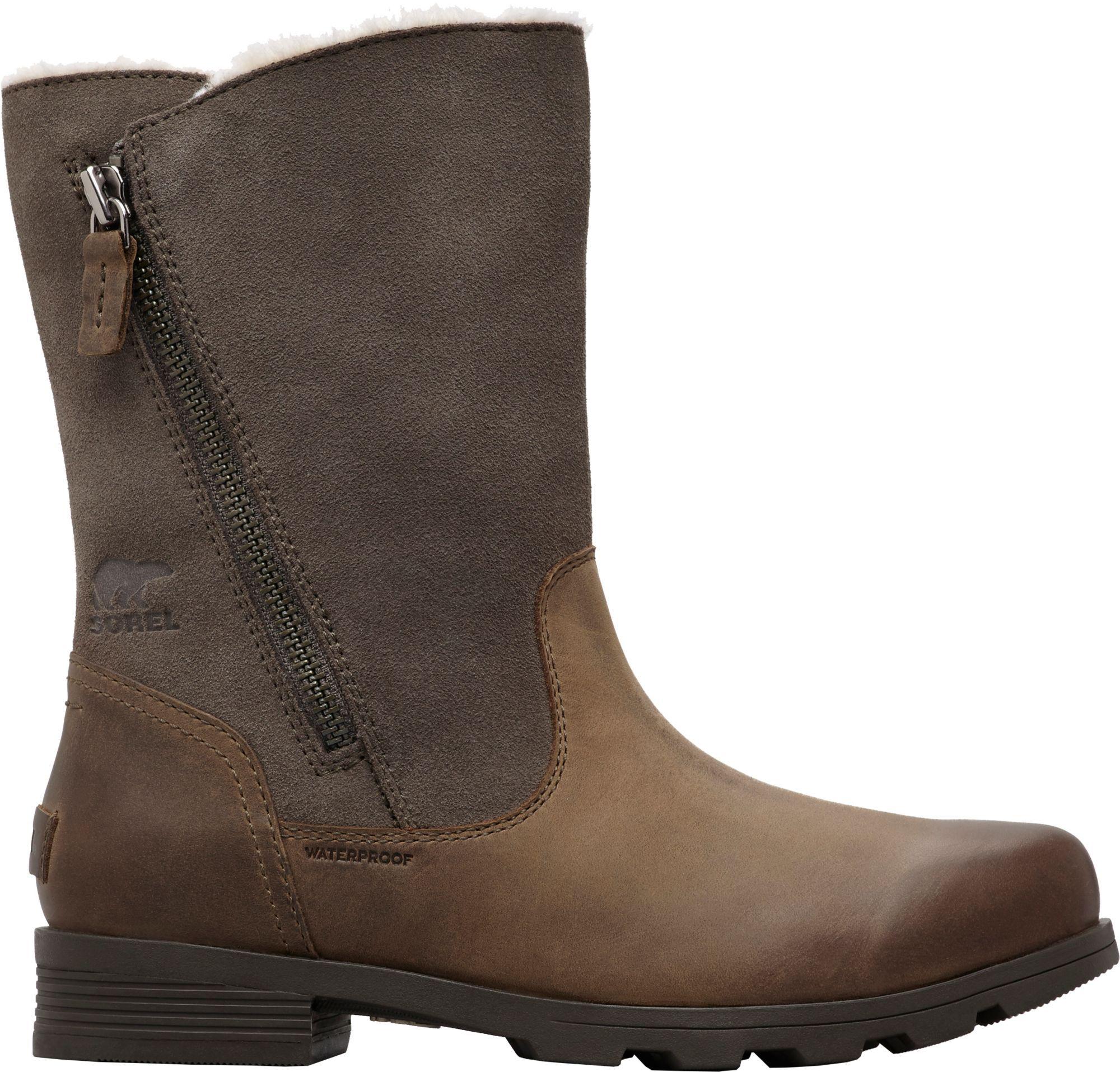 495196fe4c6aa8 SOREL Women s Emelie Fold-Over Waterproof 100g Winter Boots ...