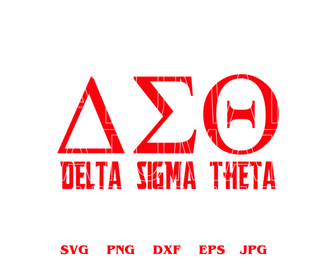 Delta Sigma Theta Sorority Logo Greek Svg Dst 1913 Diva Sign Printable Shirt Download Svg Dxf Png Files Cameo Cricut By Lloyd Shop 1 99 Usd