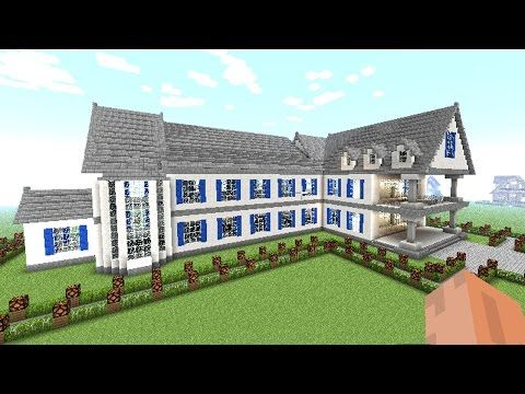 MINECRAFT how to make a BIG house [ complete guide of
