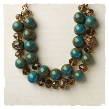 Halcyon Days Necklace in Holiday 2012 from Arhaus Jewels on shop.CatalogSpree.com, my personal digital mall.