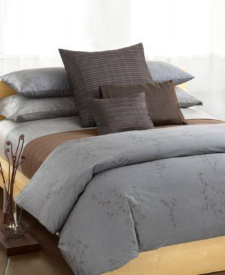 Calvin Klein Home Acacia Duvet Calvin Klein Bedding Bedroom Comforter Sets Bedding Collections