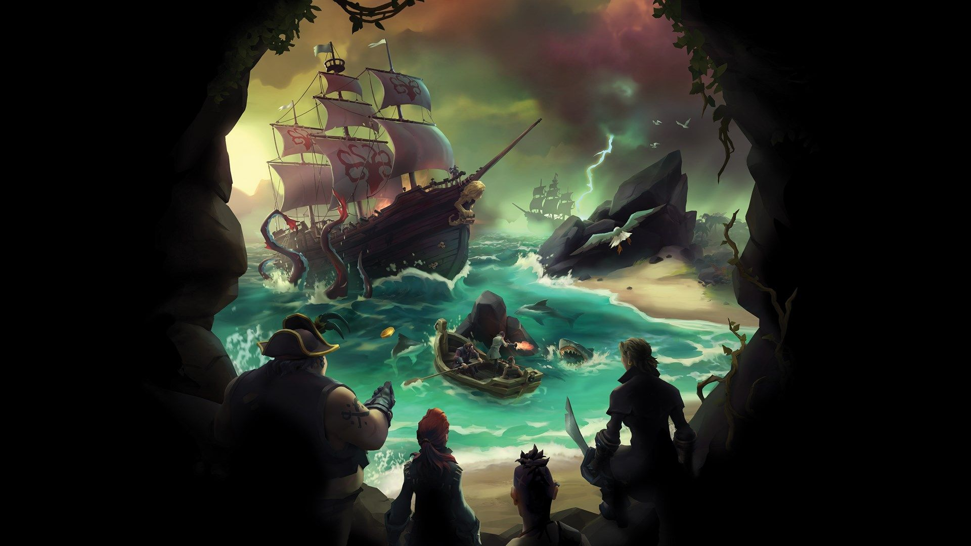 Sea Of Thieves Plans Pets, Emotes And Ship Cosmetics In