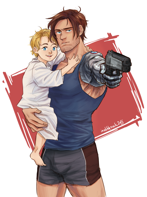 Pin on steve and bucky