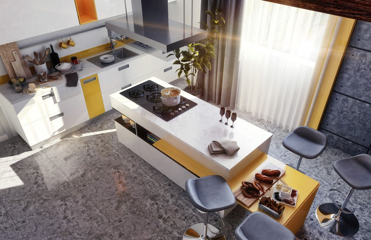 Kitchen islands designs   Stunning Modern Kitchen Island Designs  Kitchens  Pinterest