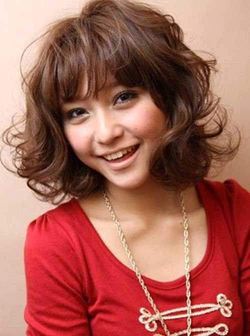 Japanese Bob Wavy Hairstyle