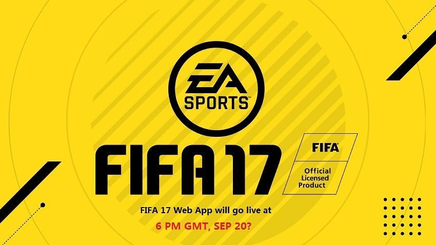 Fifa 17 Web App Will Go Live At 6pm Uk Time September 20 Anybody