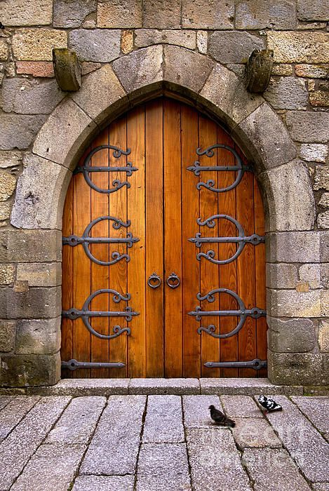 Photo of Castle Door by Carlos Caetano