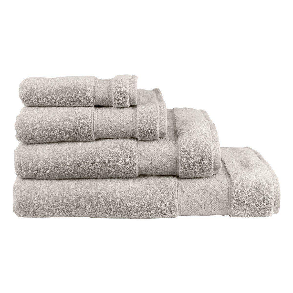 Caresse Linen Bath Collection Towel Set Pink Towels Towel