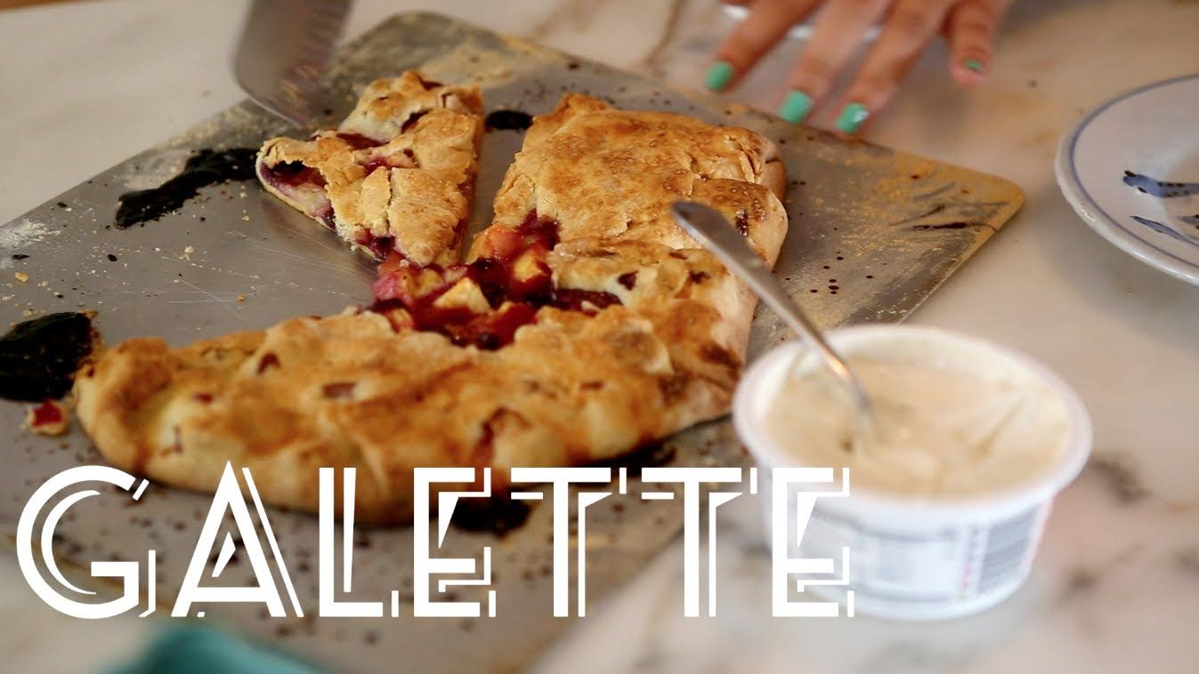 How to make Galette - A free form Fruit Tart Recipe