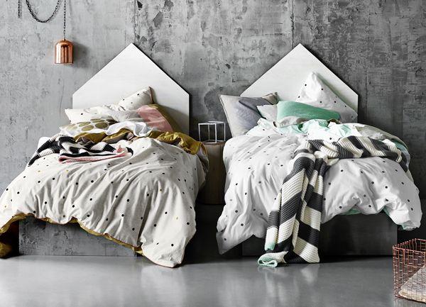 Australian designed lined from aura by tracie ellis gala lifetime achievement award linen · teen bedroomsmodern bedroomslinen beddingkid