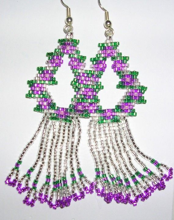 Spring Rain Earrings by shamlynn on Etsy