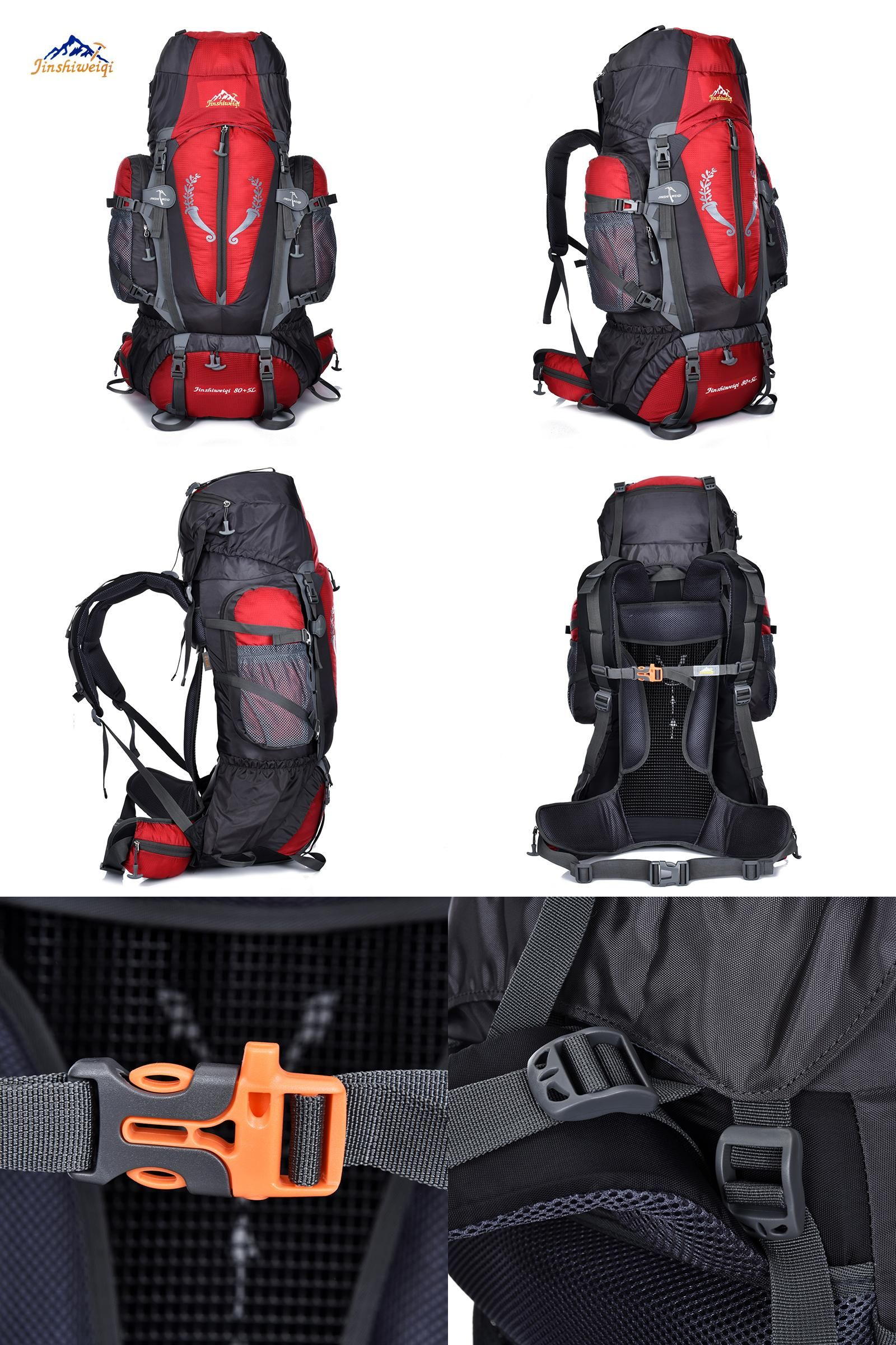 fa1eb93b1be7  Visit to Buy  JINSHIWEIQI Large 85L Outdoor Backpack Travel Multi-purpose climbing  backpacks