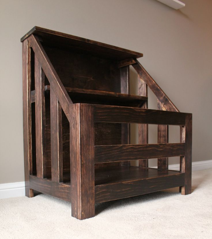 Diy Bookcase Toybox Wood Wood Projects Pinterest Diy Bookcases Woods And Wood Projects