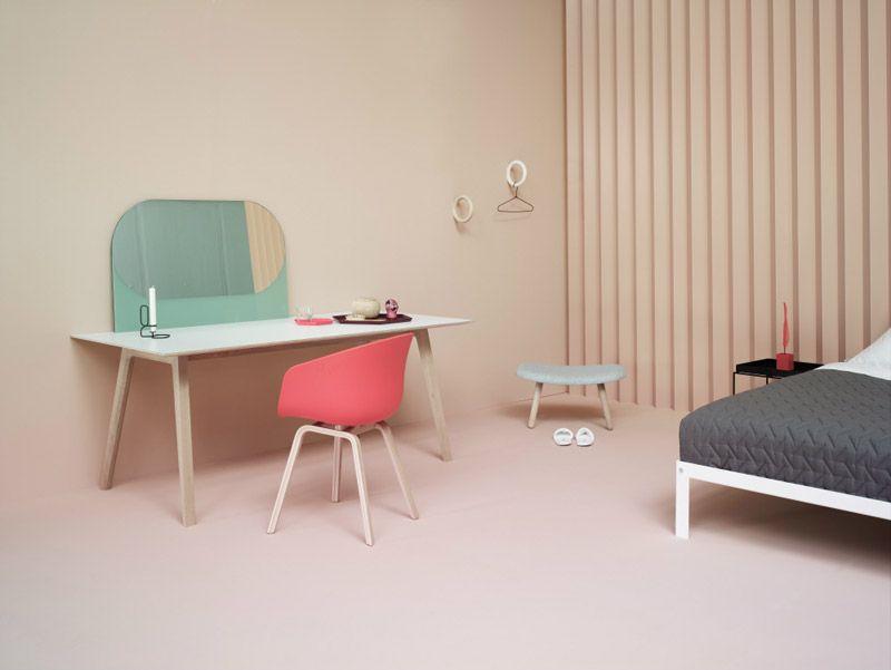 Lepostitjaune:HAY Danish Design   Via