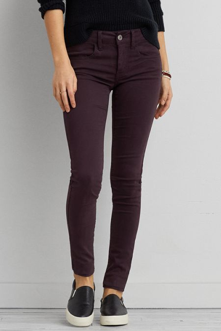 2e71461320598 American Eagle Outfitters AEO Sateen X Jegging (Jeans) | Perfect ...