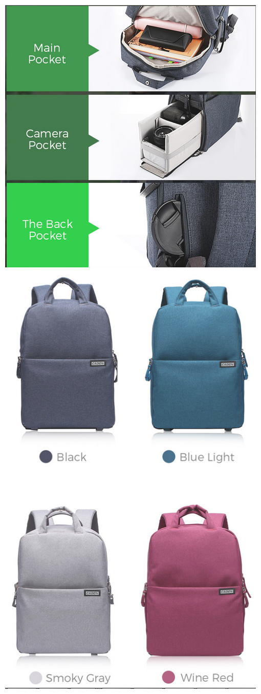 Backpack your happy journey from here