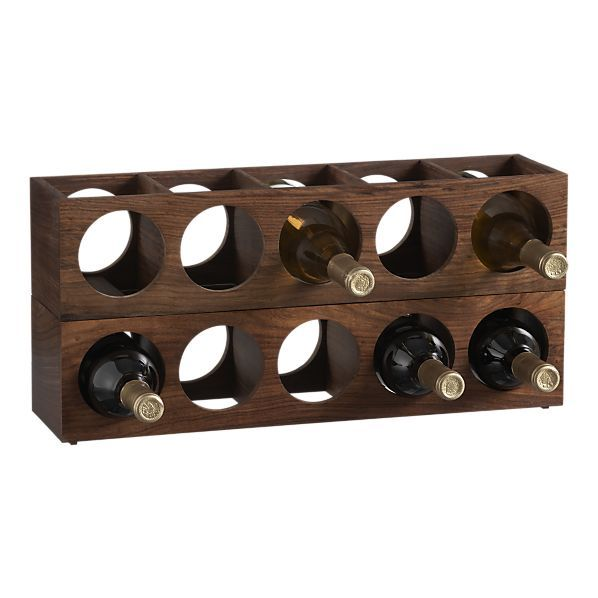 Wall Mount Wine Racks From Crate Barrel Would Love 1 2 Of These