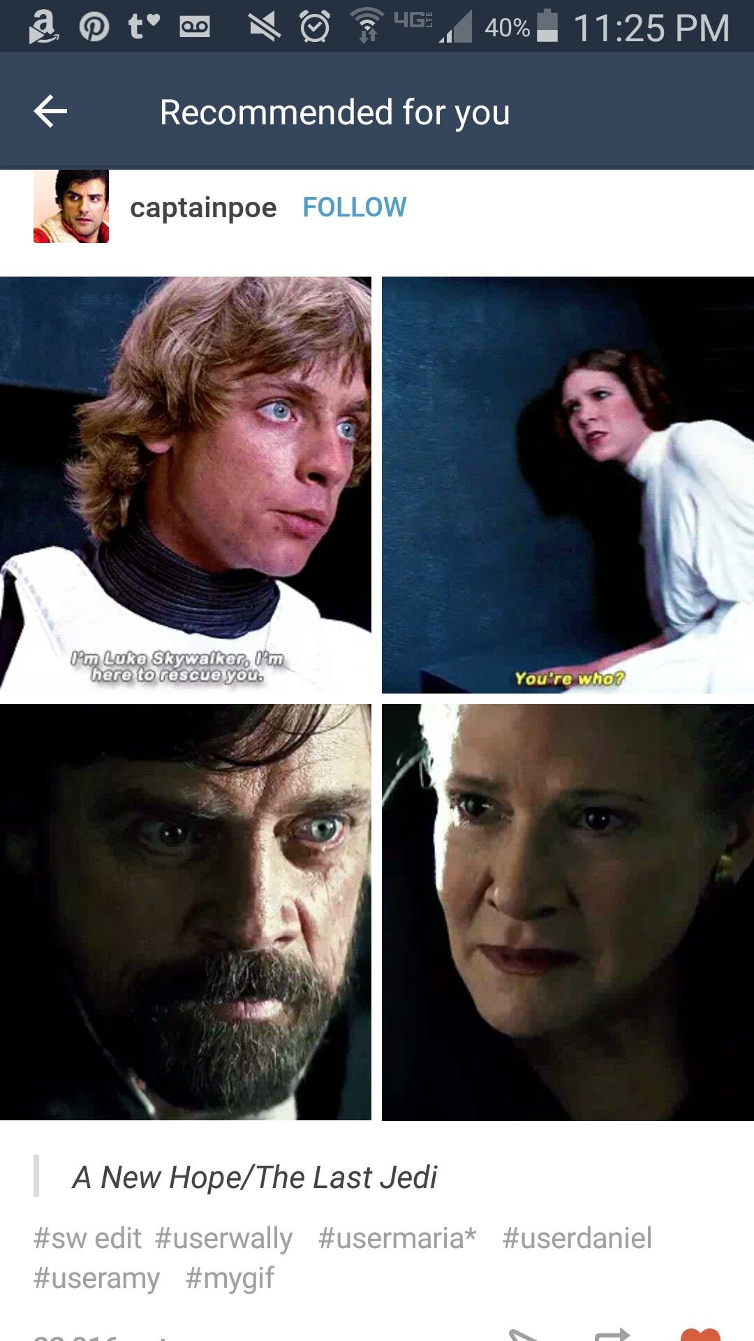 Star Wars A New Hope The Last Jedi Luke And Leia Leia Star Wars Star Wars Humor Star Wars Memes