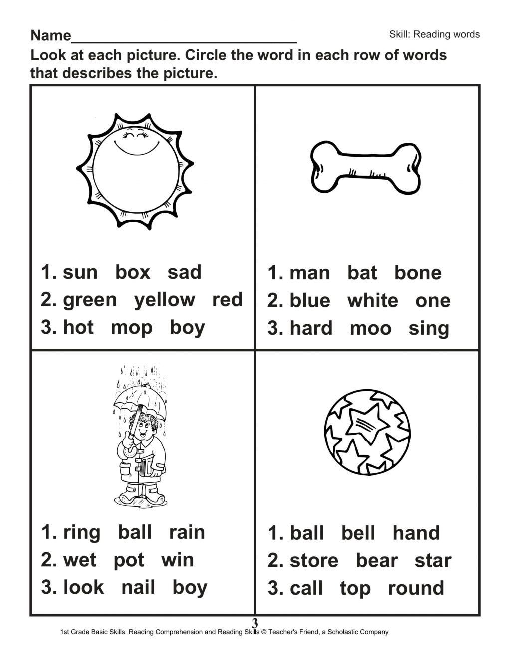small resolution of 1st Grade Sequencing Worksheets   Printable Worksheets and Activities for  Teachers