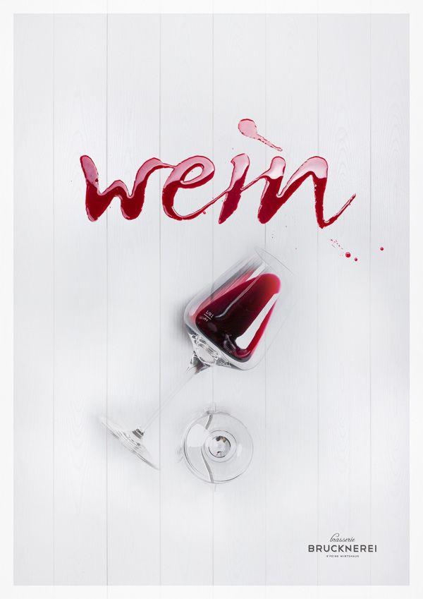 Wein Typography
