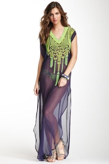 Mara Hoffman Long Bead Dashiki. Just spotted it on Hautelook 2891719cdf4