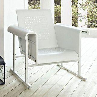 Crosley Outdoor Veranda Single Glider Chair Affiliate Outdoor Glider Chair Patio Rocking Chairs Glider Chair