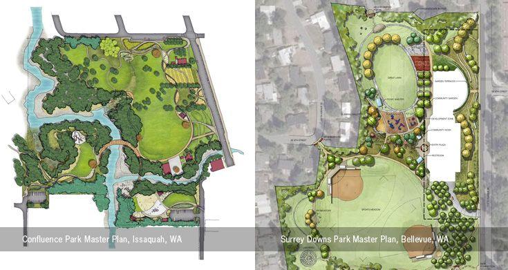 Park Master Plans Berger Partnership Landscape Architecture And Urban Design Architecture Plan Master Plan Architecture