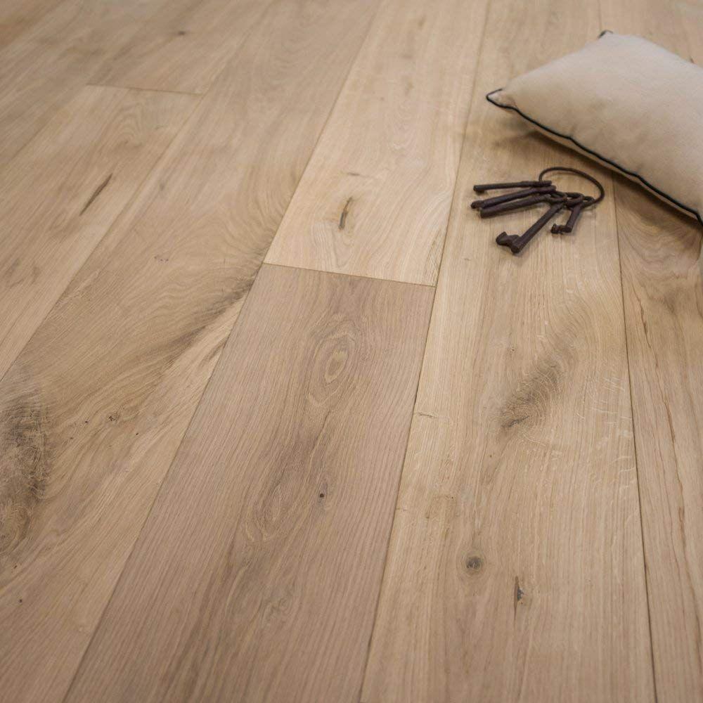 Wide Plank 7 1/2 x 1/2 European French Oak Unfinished