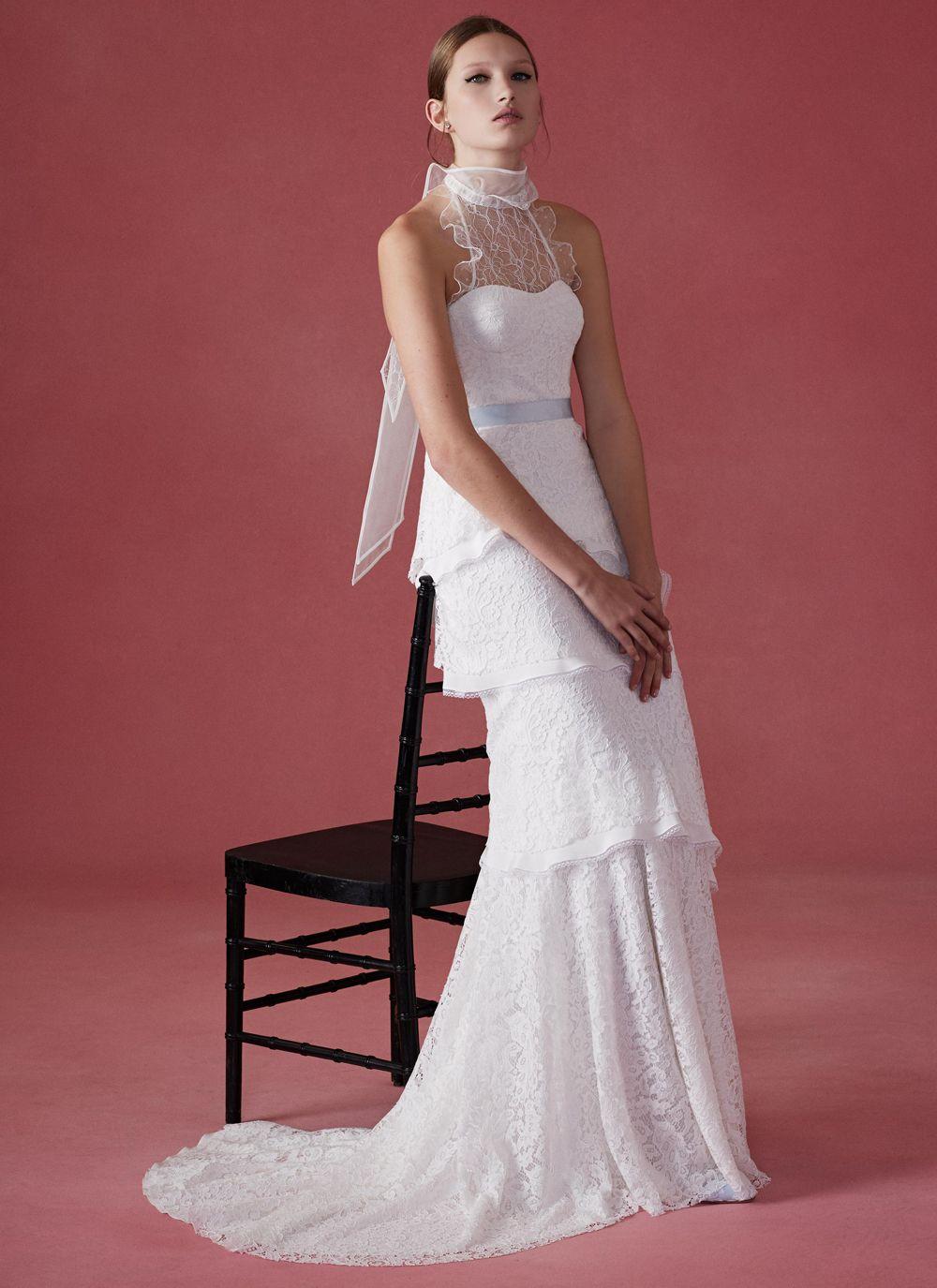 Photo: Oscar de la Renta | Robes de mariée | Pinterest | Dressing gown