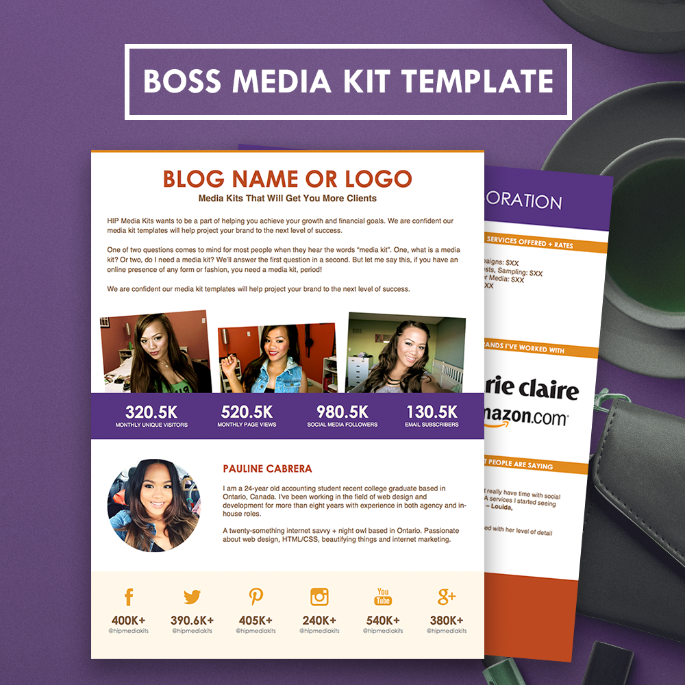 Looking For A Professional Media Kit With A Rates Sheet Here Is A
