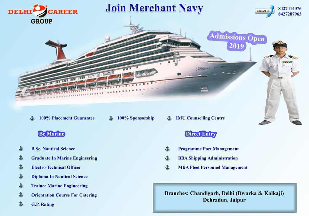Admission open!!! Best Merchant Navy Entrance Classes in
