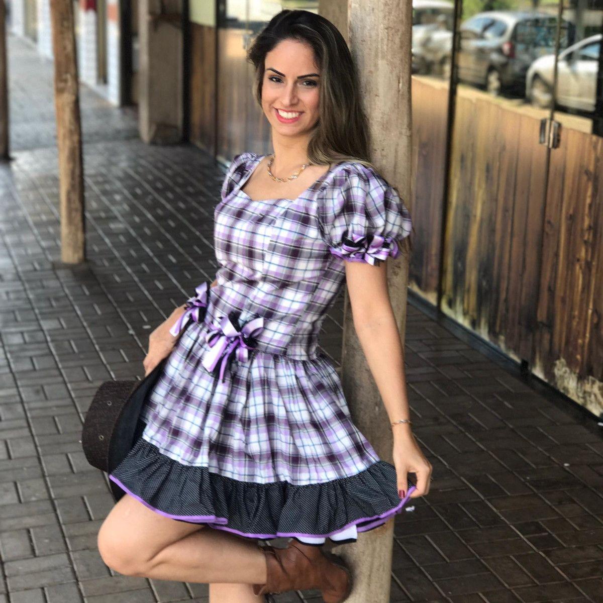 Vestido Fantasia Junino Caipira Xadrez Discreto Adulto Luxo No Elo7 Dalili Store 96c7ac Vestidos Ideias Fashion Vestido Festa Junina Adulto
